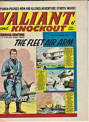 3 x VALIANT 1963 May + October Comic issues