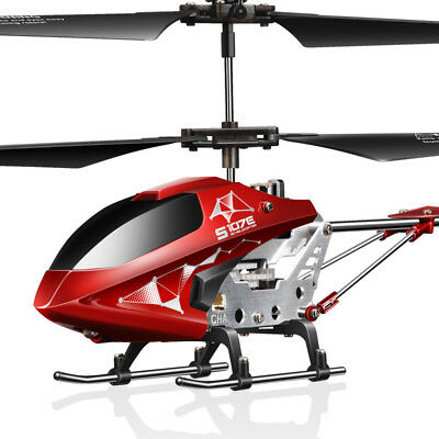 Original Syma S107W 3 Channel RC Helicopter 6Axis LED Flashing Light Toy AU SHIP