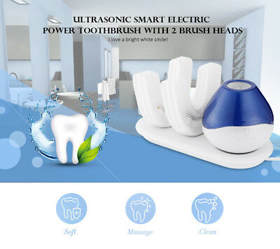 A360 Degrees Automatic Electric Toothbrush Ultrasonic U Type Wireless Toothbrush