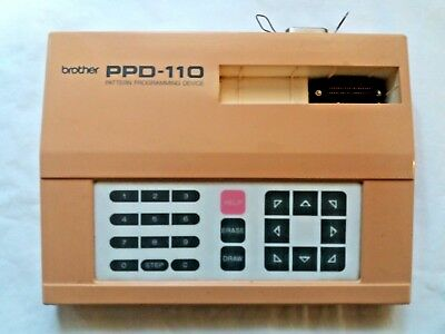 Brother Knitting Machine Parts Accessories Ppd110 Pattern Untested Spares Only
