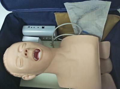 Intubation Manikin Study Teaching Model Airway Management Trainer PVC 220v