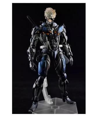 Play Arts Kai Metal Gear Rising:Revengeance Raiden Action Figure Figuren Mit box