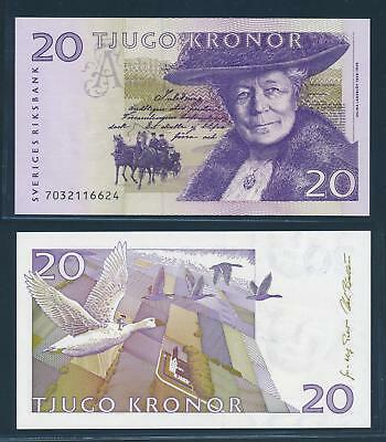 [77302] Sweden 1997 20 Kronor Bank Note UNC P63a