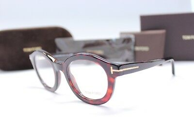 87d42f500923 New Authentic Tom Ford Tf 5460 054 Case Italy Glasses Glasses Frame
