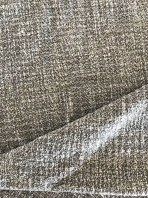 COUNTRY ROAD Throw, Grey With Amber Trim - 100% Wool