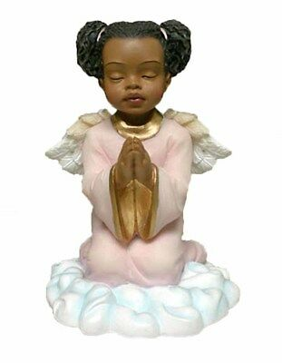 Praying Girl Angel African American (17336) NEW 4.25 Inches