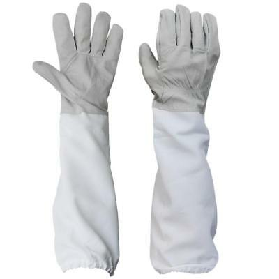 Beekeeping Gloves Long Sleeves Bee Goatskin Protective Medium Large Vented Suits
