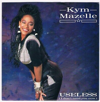 "Kym Mazelle - Useless (I don't need you now) / 7"" Single von 1988"