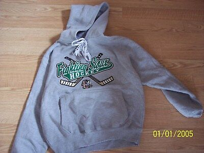 UND University North Dakota Fighting Sioux Mens M Embroidered Sewn Sweatshirt