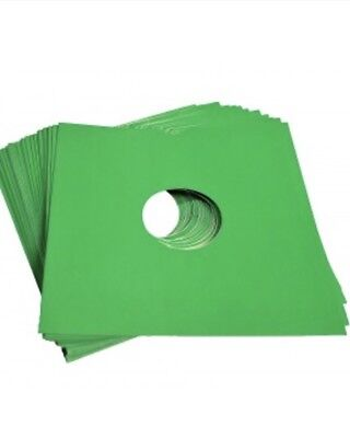 """25 X 12"""" Green Card Record Masterbags Sleeves / Covers *new*"""