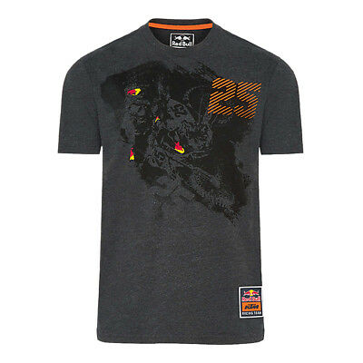 Red Bull T-Shirt KTM Racing Team Musquin - Heahter Grey