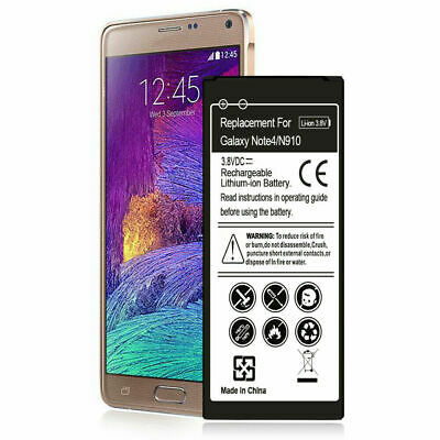New EB-BN910 3420 mAh Battery For Samsung Galaxy Note 4 IV SM-N910 N910A N9100