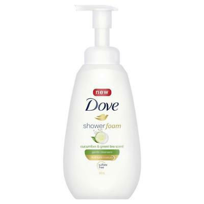 Dove Cucumber & Green Tea Shower Foam 400ml