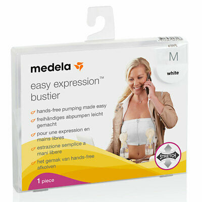 Medela Easy Expression Bustier White Medium Online Only