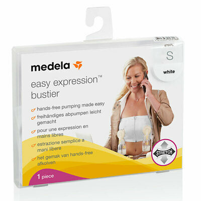 Medela Easy Expression Bustier White Small Online Only