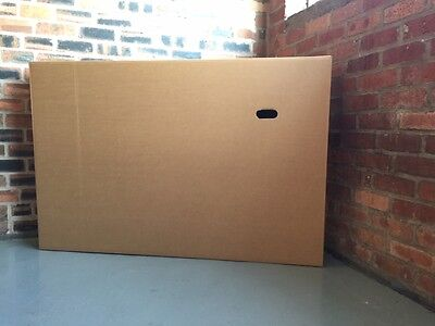 samsung LCD TV flat screen large box for transport will fit up to 60 inch screen