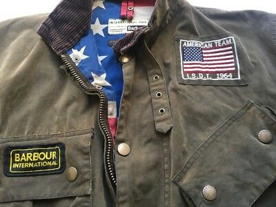 The Iconic A7 Barbour Steve McQueen Rexton Jacket sz 40'' VERY RARE RRP 699$