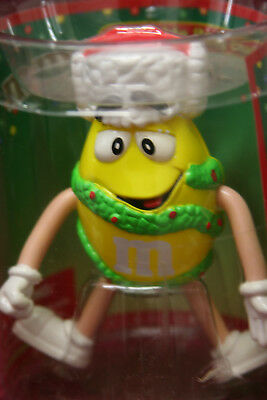 YELLOW ~ M&M M&M's Collectible Bendable Figurine Character