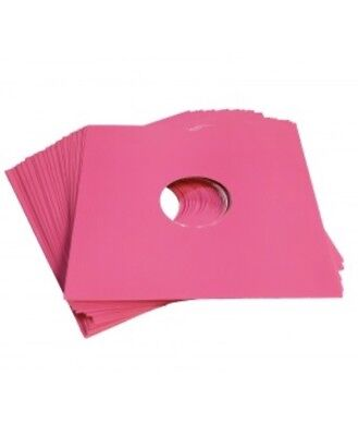 "50 X 12"" Pink Card Record Masterbags Sleeves / Covers *new*"