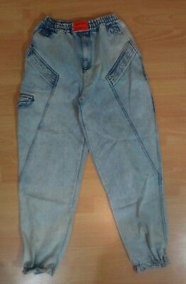 Tomorrow's Generation Kids Jeans Blue Acid Wash 80s Size 10