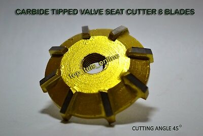 Valve Seat Cutter Carbide Tipped All Sizes And Degrees Available