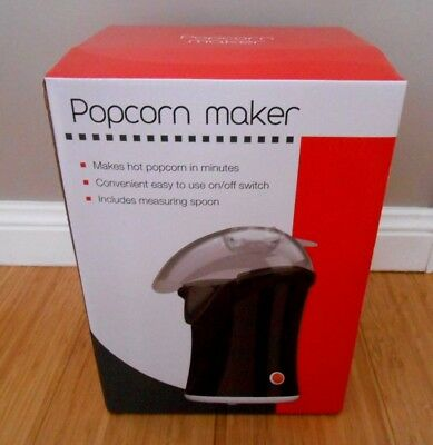 NEW NEVER USED Popcorn Maker with Spoon + Instructions -Make popcorn in minutes!