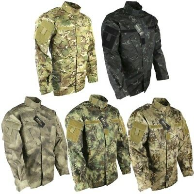 Us Army Style Acu Ripstop Shirt Mens S-2Xl Lightweight Jacket Paintballing