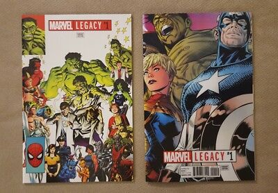 Marvel Legacy #1 eBay Exclusive Mike McKone  Hulk Variant  and Lenticular Cover