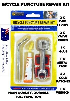 Bicycle Repair Puncture Kit Bike Tyre Levers Cycle Spanner Tool Kit High quality