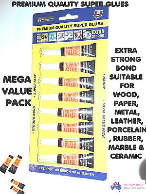 Super Glues Premium Quality Extra Strong Bond Adhesive Plastic wood Rubber Glue