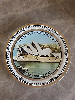 1973 Sydney Opera House Opening, Commemorative Plate. Vintage, Collectors.