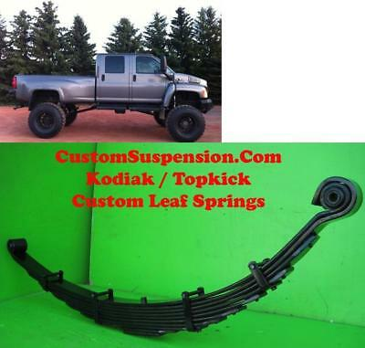 "Kodiak Topkick C4500 Progressive Softride Front Lift Springs 8"" - Pair"