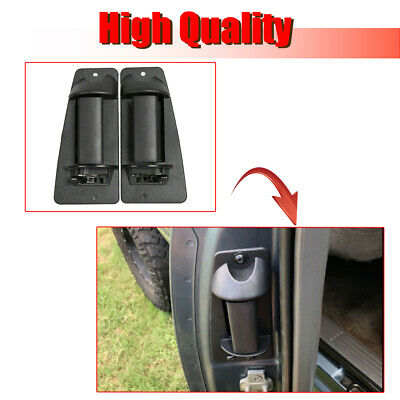 Pair Rear Outside Door Handle, 99-07 Chevrolet Silverado GMC Sierra Extended Cab