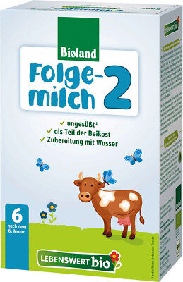 14 Boxes Holle Lebenswert Organic Infant Formula Stage 2 / Exp.Date 12-2019 New