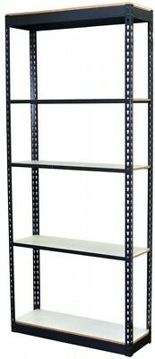 Storage Concepts 84 in. H x 36 in. W x 24 in. D 5-Shelf Steel Boltless Shelving
