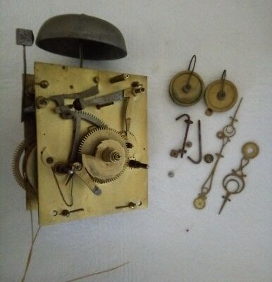 Long Case Grandfather Clock Movement