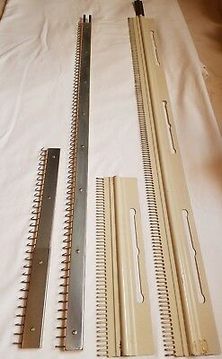 Rare Toyota Knitting Machine Parts Tools Accessories Ribber Cast On Comb Set X 2