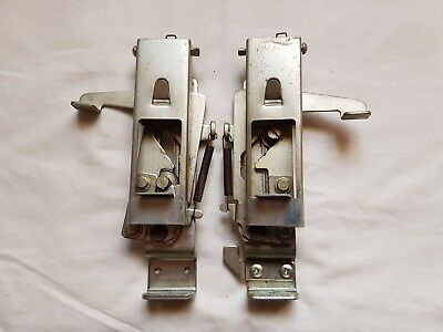 Rare Toyota Knitting Machine Parts Tools Ribber Kr460 Left Right Bracket Assmbly