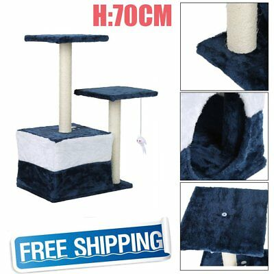 70Cm Cat Tree Kitten Scratching Post Scratcher Pole Toys Pet Gym House Bed B6