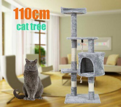 1.1M Cat Scratching Post Tree Gym House Condo Furniture Scratcher Pole B^