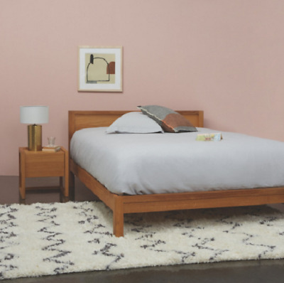 HABITAT HANA II Oak Double Bed Frame 135cm ***RRP £595*** - £439.00 ...