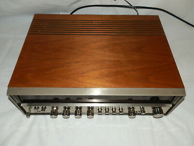 Sony STR-6046A Stereo Receiver 1970s Vintage Wood surround Made in Japan