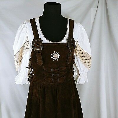 Landhaus German Dirndl Dress & Blouse Size 42-44 (US 10-12) Octoberfest