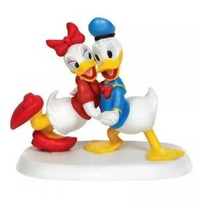 Precious Moments Disney I Only Want To Dance With You Figurine Donald Duck Daisy