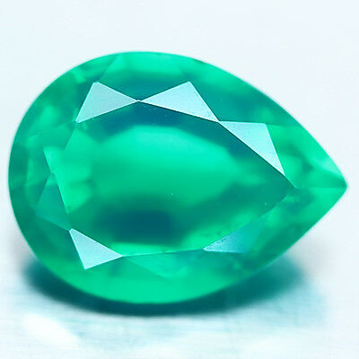 5.96 Ct Green Triplet Emerald Pear
