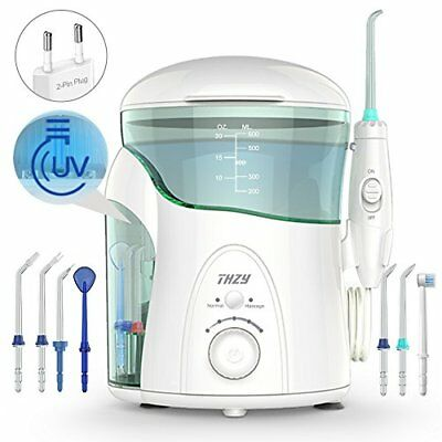 Irrigador Dental con UV Esterilizador, THZY Water Flosser Irrigador Bucal I ...