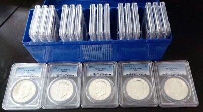 20 COIN Box Set SILVER 1971,72,73,74,76 $1 PCGS MS66 Eisenhower $1 & 4 KEY DATES