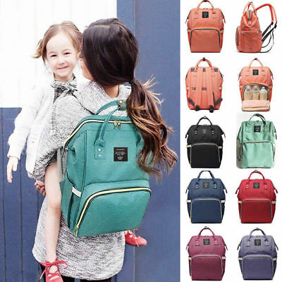 Fashion Mummy Diaper Backpack Large Capacity Maternity Nappy Baby Travel Bag