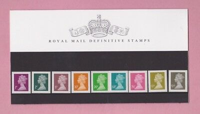 Great Britain, 1993-2011, definitive stamps, Presentation pack No.90