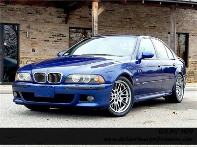 M5 -- 2001 BMW M5 E39 35,018 Miles Blue One Owner Clean Carfax Service Records